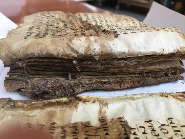 PML M.910 last folio